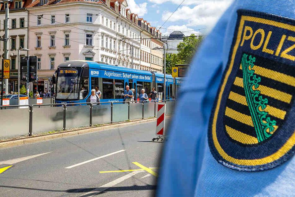 Dresden: Zeuge beobachtet Diebstahl am Albertplatz und wird bedroht