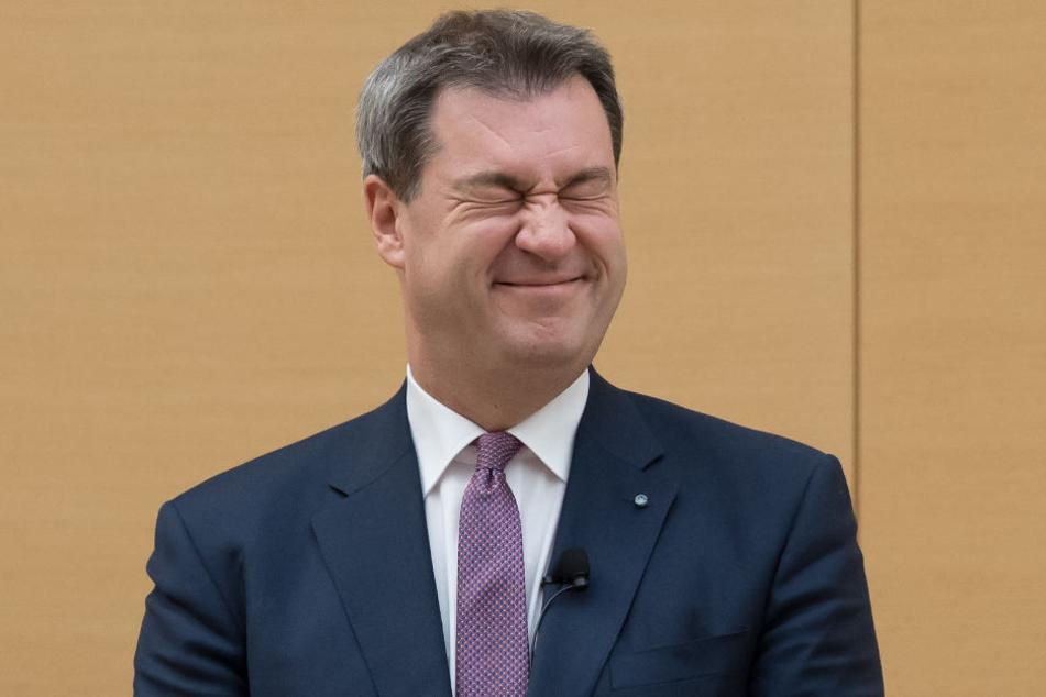 """Söder erklärt im Landtag: """"Bayern ist es wert"""""""