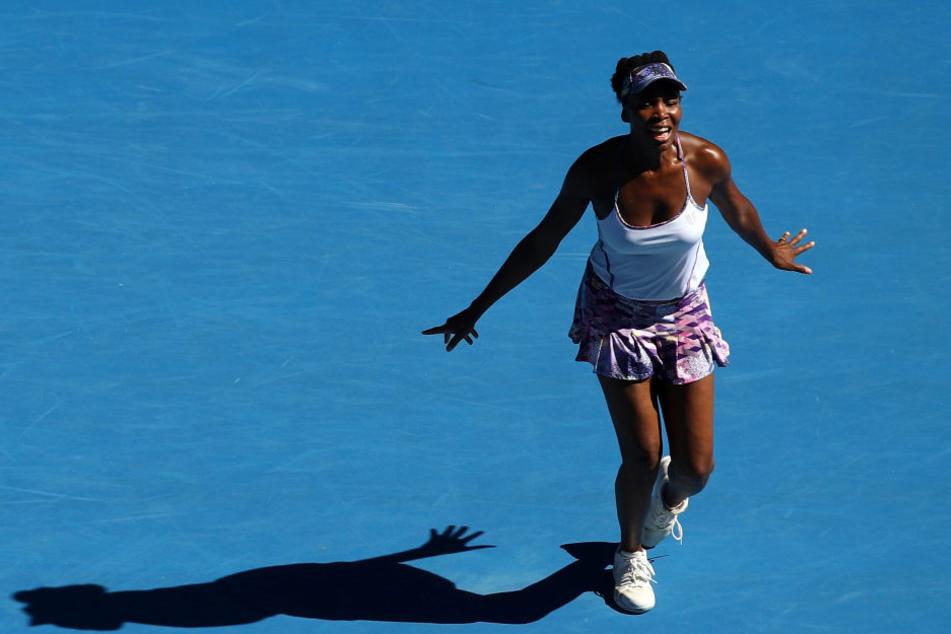 Venus Williams hat nach der Rekord-Wartezeit von 14 Jahren zum zweiten Mal das Endspiel der Australian Open erreicht.