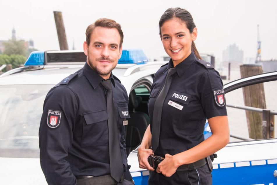 Marc Barthel und Aybi Era verkörpern das neue Ermittler-Duo bei Notruf Hafenkante.