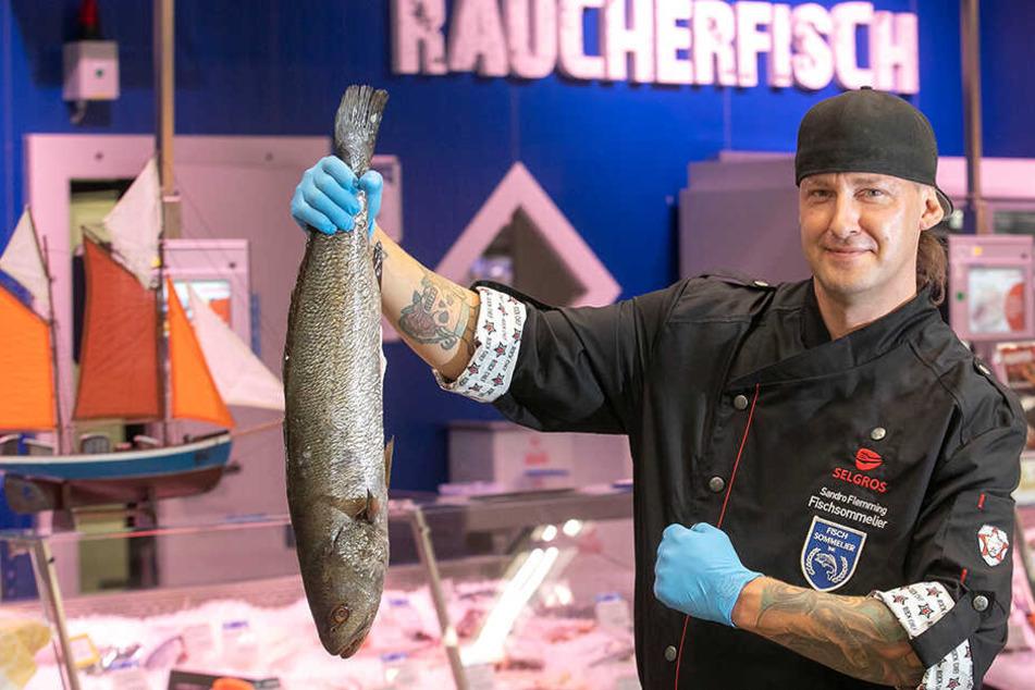 Ein Meister seines Fachs: Sandro Flemming ist Sachsens erster Fisch-Sommelier