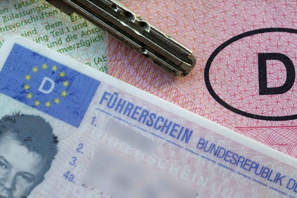 Der deutsche Führerschein war schon weg, deswegen versuchte es ein Autofahrer bei der Polizei mit einem litauischen.