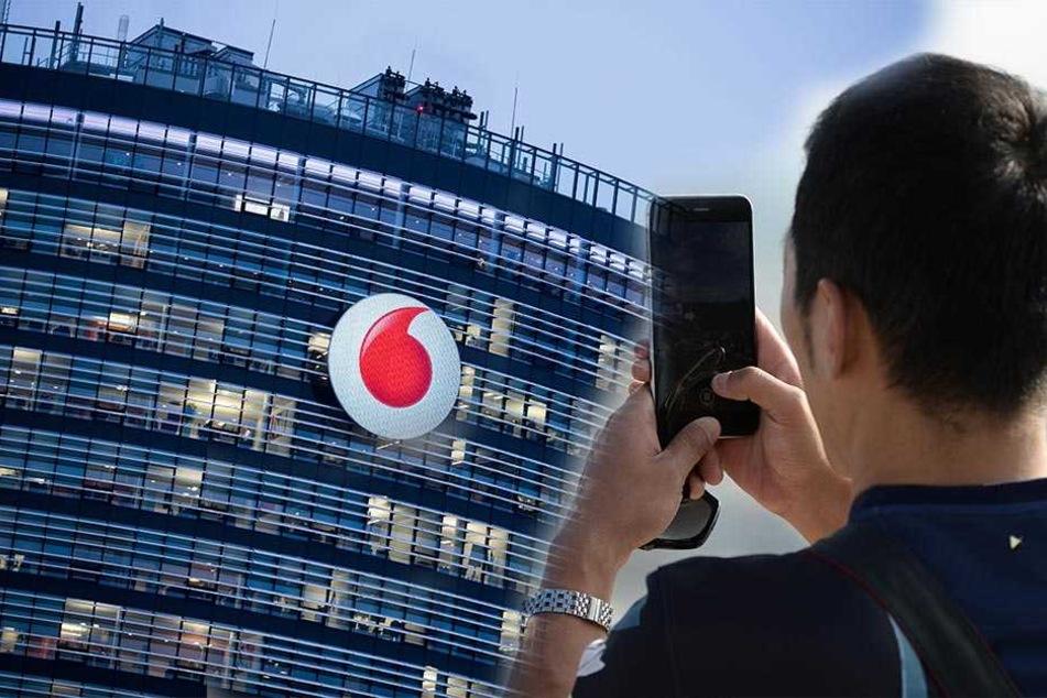 Derzeit haben Handynutzer, die mit Vodafone telefonieren oft keinen Empfang in Deutschland.