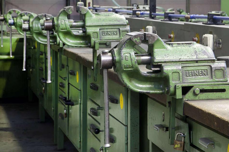 Leere Werkbänke: Sachsens Landesarbeitsagentur hat noch knapp 8100 freie Lehrstellen zu vermitteln