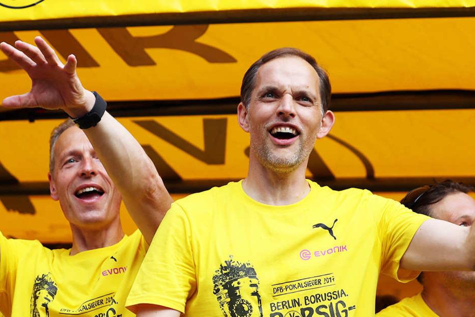 Aus besiegelt! Pokalsieger Dortmund trennt sich von Trainer Tuchel