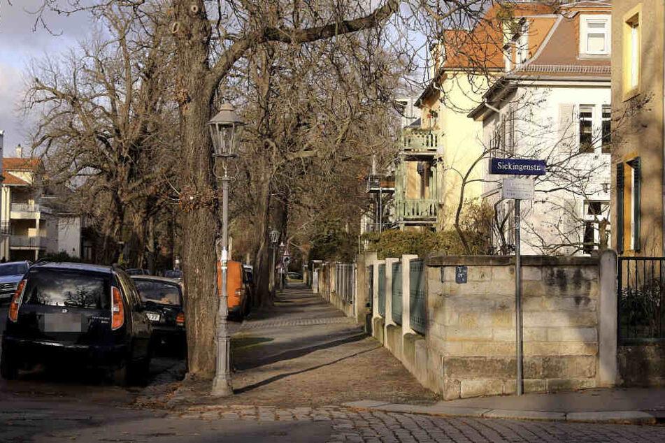Die Kinder waren einzeln auf der Lene-Glatzer-Straße unterwegs.