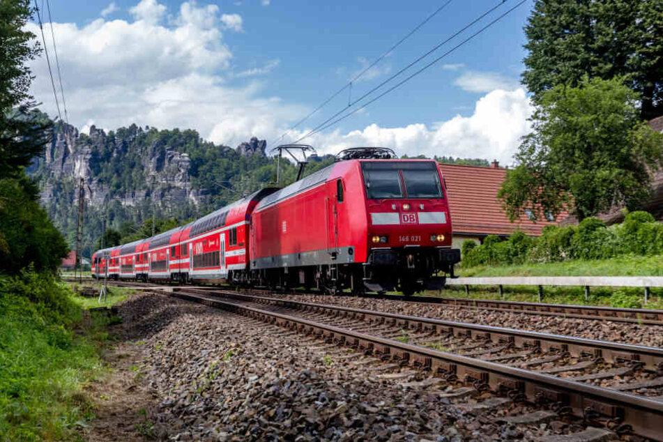 Bahnlärmgeplagte im Elbtal sollen bald aufatmen können. Das Finanzierungsabkommen ist unterschrieben.