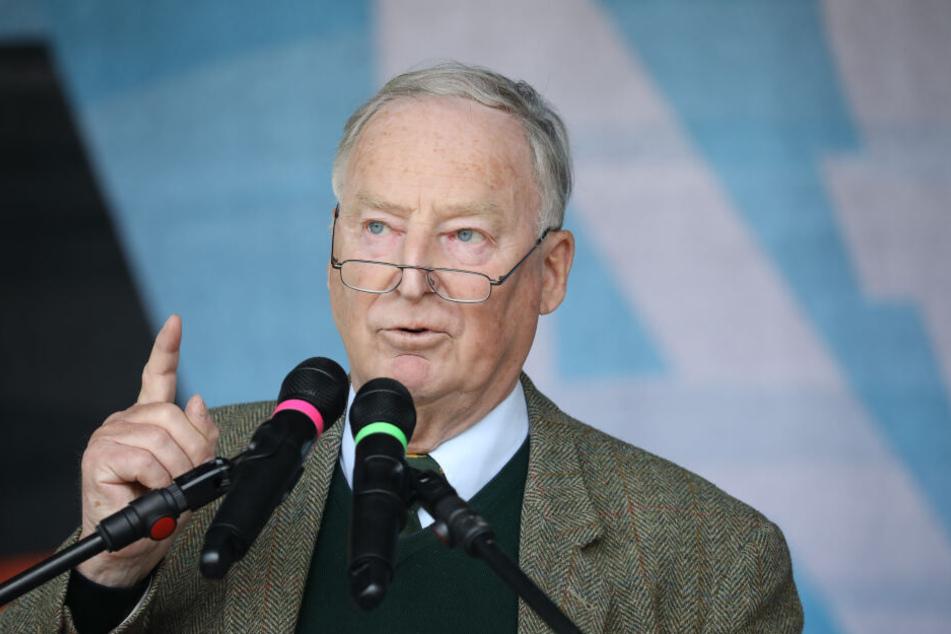 Alexander Gauland in einer von zwei Fraktionsvorsitzenden der AfD.