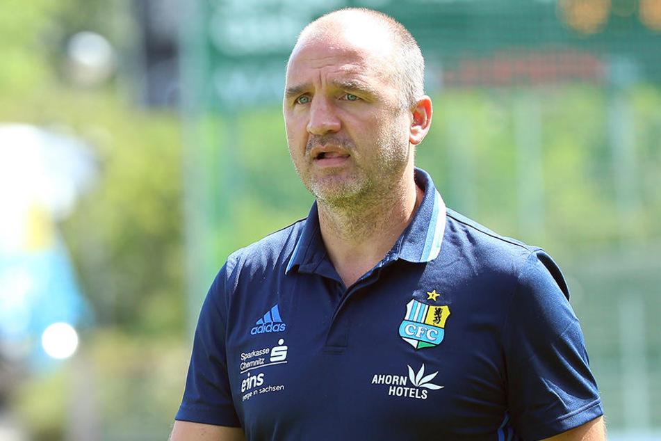 CFC-Sportdirektor Steffen Ziffert befürwortet ein Trainingslager im Süden.