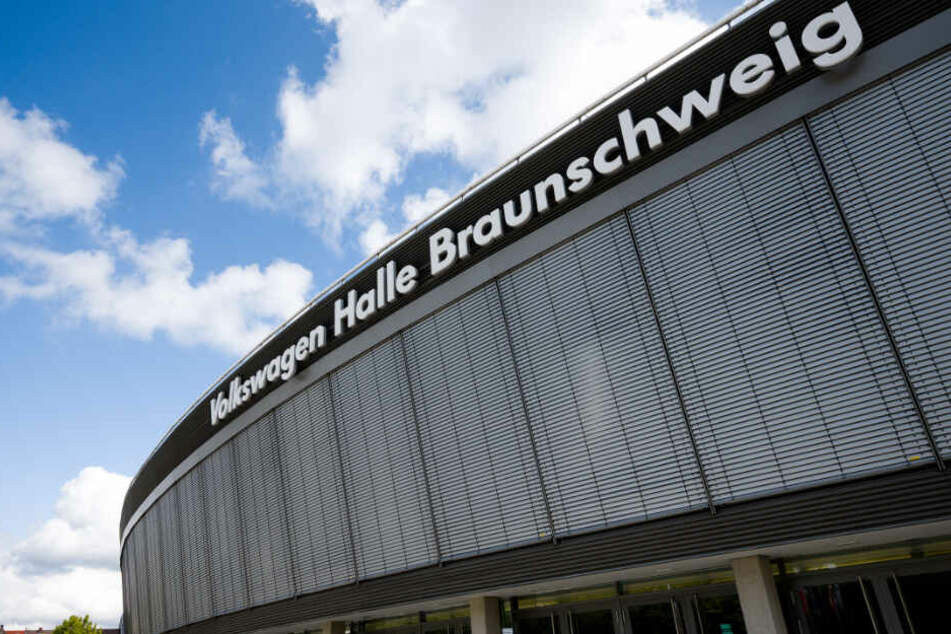 """In der """"Volkswagen Halle"""" wird der Parteitag stattfinden. Nur der Name wird dann nicht sichtbar sein."""