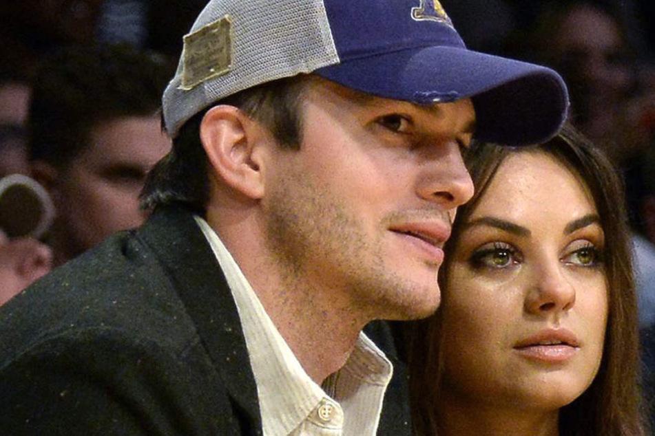 Ashton Kutcher ist bereits in Berlin eingetroffen und wartet auf seine Frau Mila.
