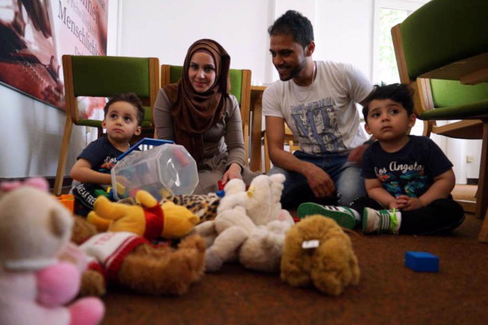 Jihad Al Muslim, seine syrische Ehefrau Wisam Ququ und die gemeinsamen drei Söhne wollen zurück in den Irak.