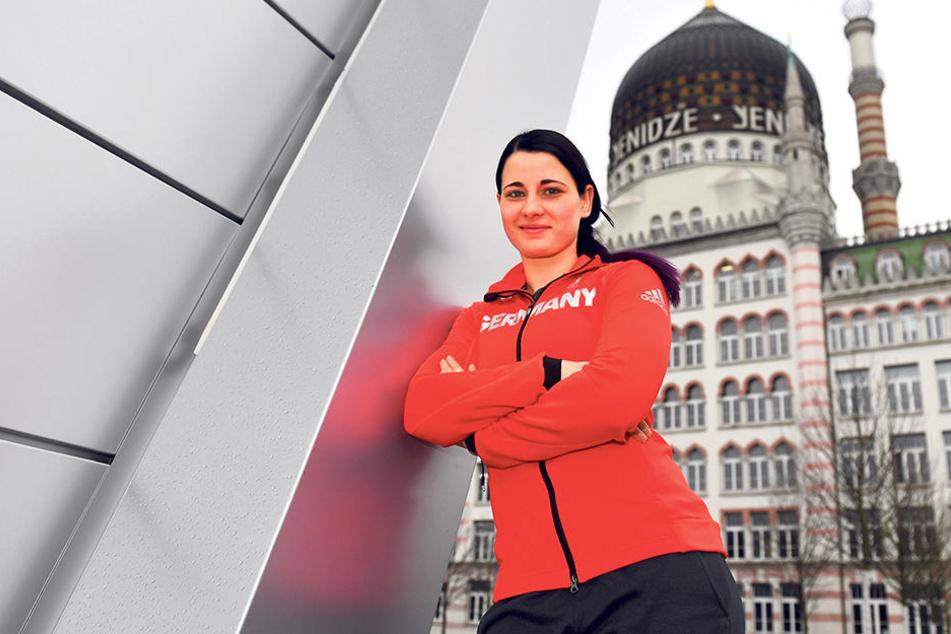 Bianca Walter freut sich auf ihre ersten Olympischen Winterspiele. Die langwierigen Rückenprobleme im Vorfeld sind auskuriert. Die 27-Jährige fühlt sich gut und voller Energie.