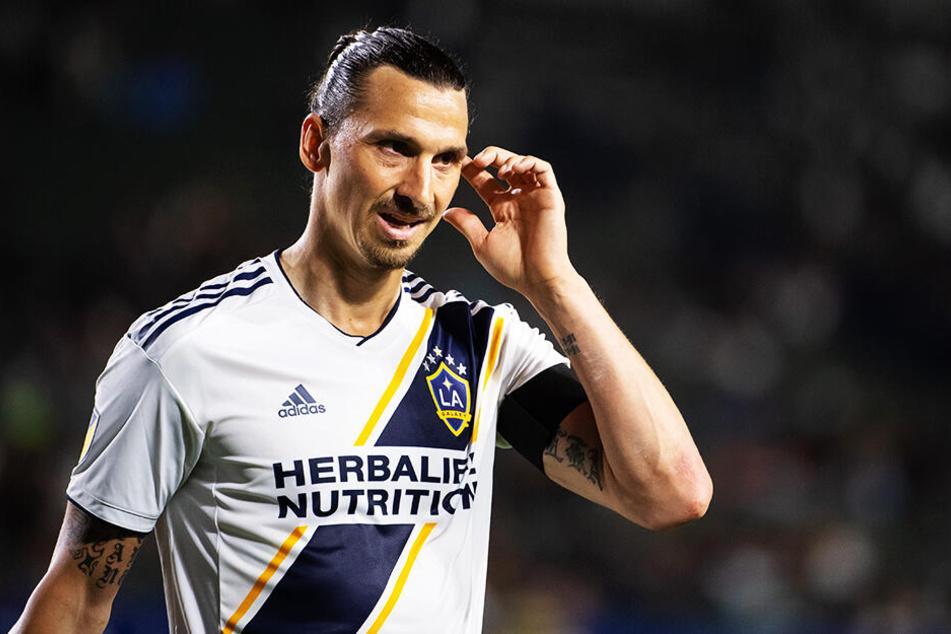 Die Bilanz von Zlatan Ibrahimovic in dieser Saison: Vier Spiele, sechs Tore, eine Vorlage.