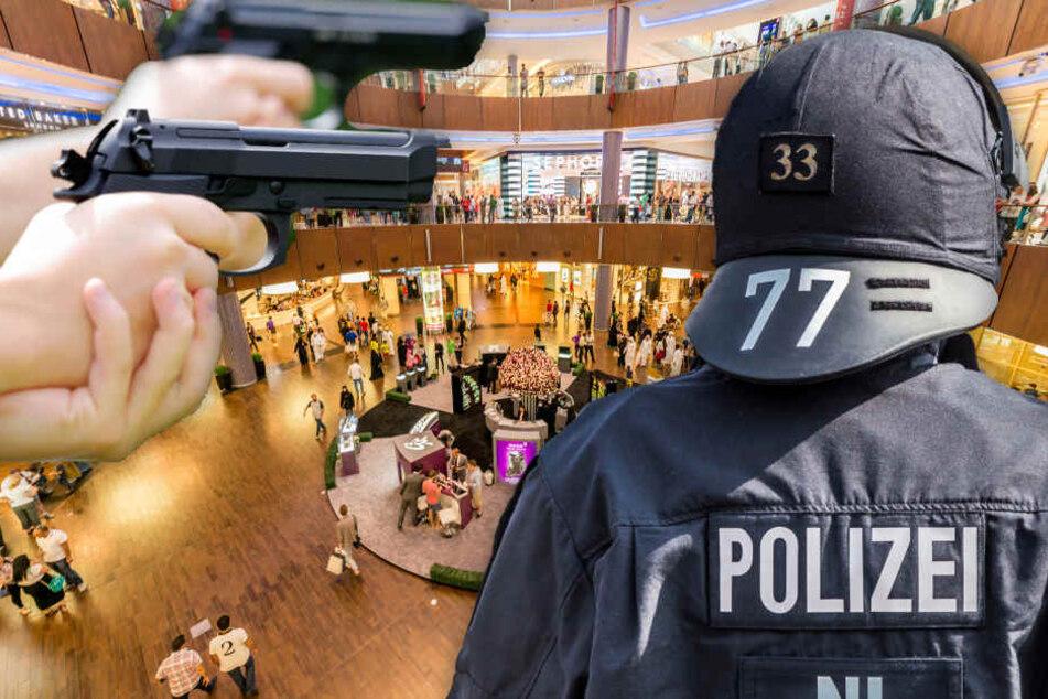 Die Polizei stellte die beiden Waffen, die die sechs Personen mit sich führte sicher (Symbolbild).