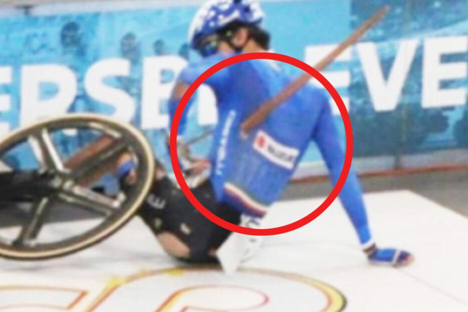 Horror-Unfall beim Bahnradsport! 17-Jähriger von Holzstück durchbohrt