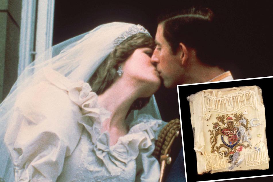 Royaler Kuchenbasar: 40 Jahre altes Stück Torte von Charles und Diana wird versteigert