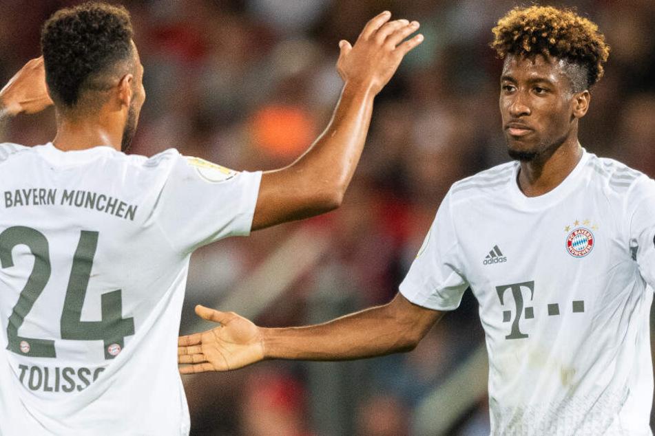 Kingsley Coman (r.) hat beim FC Bayern München noch so einiges vor.