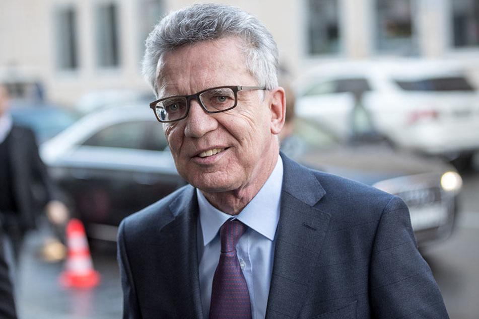 Alterstests sind der Vorschlag von Innenminister Thomas de Maizière