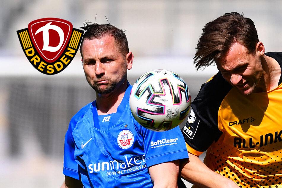 Dynamo hält Hansa Rostock dank Remis im Ost-Osterkracher auf Distanz!