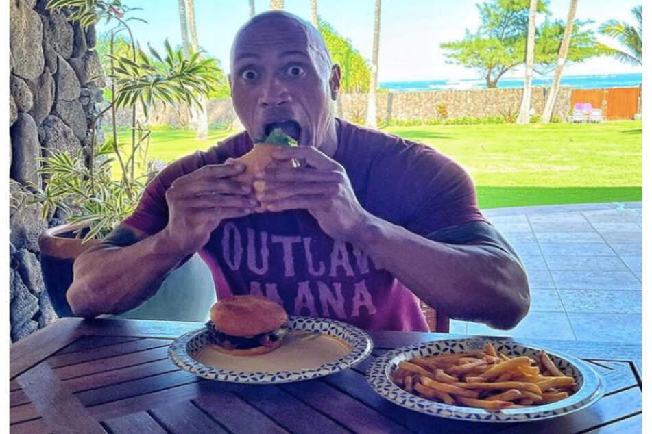 Instagram users can smell what The Rock is cooking for his new monster-diet