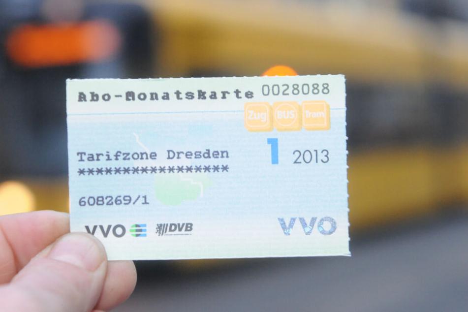 In Dresden florierte der Handel mit gefälschten Monatskarten.