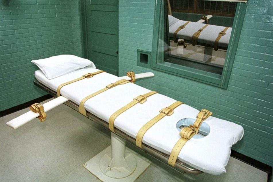 Dieser US-Bundesstaat will wieder Hinrichtungen per Giftspritze vollstrecken