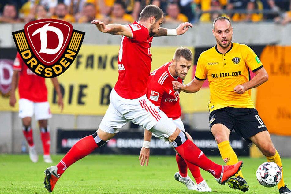"""Dynamos Benatelli zu Fan-Unterstützung: """"Weil die Leistung stimmt"""""""