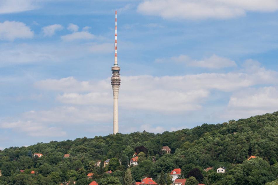 Der Dresdner Fernsehturm steht mal wieder zur Debatte.