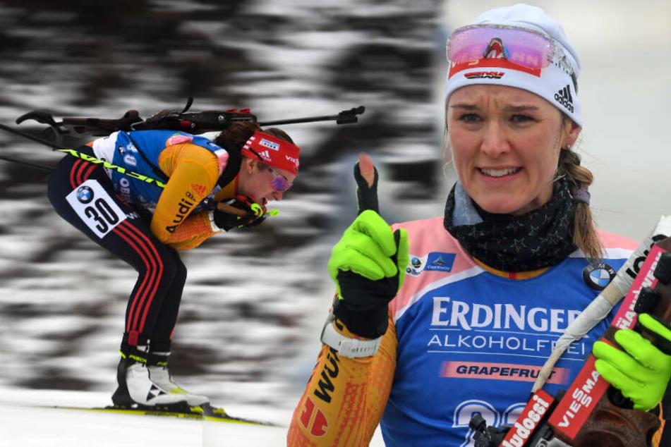 Erster Podestplatz der Saison: Denise Herrmann versilbert sich den Heim-Weltcup