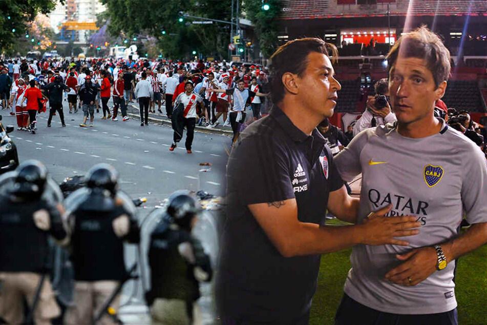 Nach brutalen Attacken: Boca Juniors fordern Final-Vertagung!