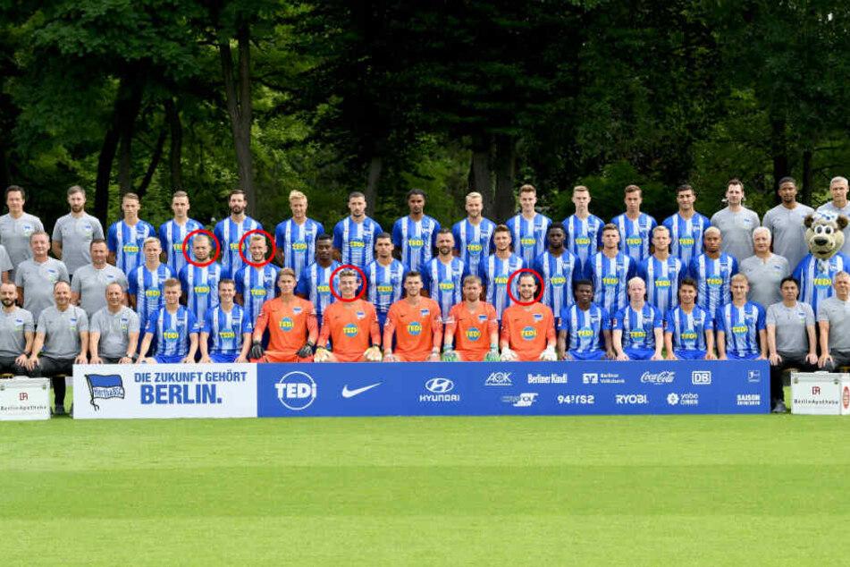 Nicht nur Cheftrainer Pal Dardai, sondern auch einige Spieler werden den Verein im Sommer verlassen.
