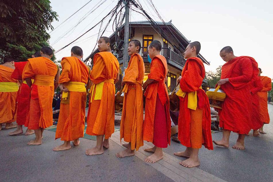 Ein buddhistischer Mönch wurde jetzt mit 4,5 Millionen Crystal-Meth-Pillen erwischt.