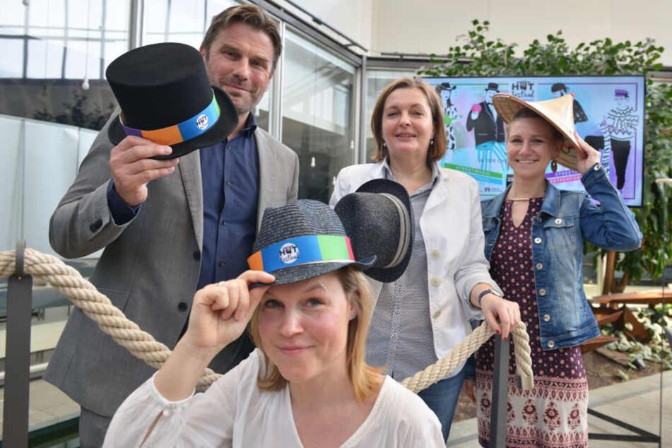 Yvonne Buchheim (40) vom Veranstalter C3 freut sich auf die zweite Auflage des Hutfestivals.