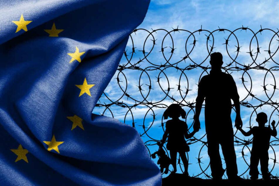 Die Umverteilung der Flüchtlinge in Europa sorgt immer wieder für Streit. (Symbolbild)