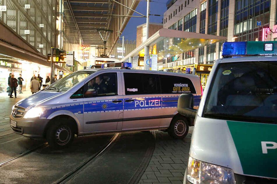 Brutale Attacken in der City: Zwei Männer verletzt