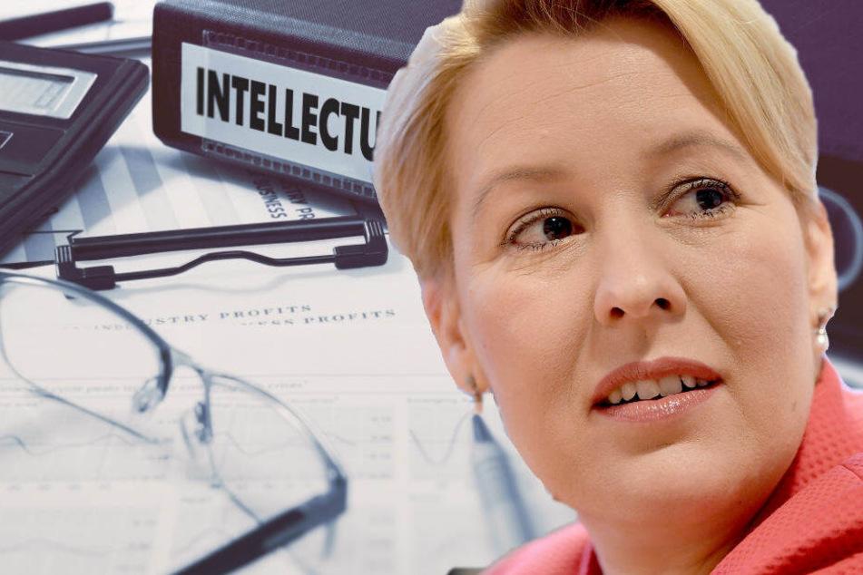 Nach Schummel-Vorwürfen zur Doktorarbeit: Franziska Giffey will es vorerst aussitzen