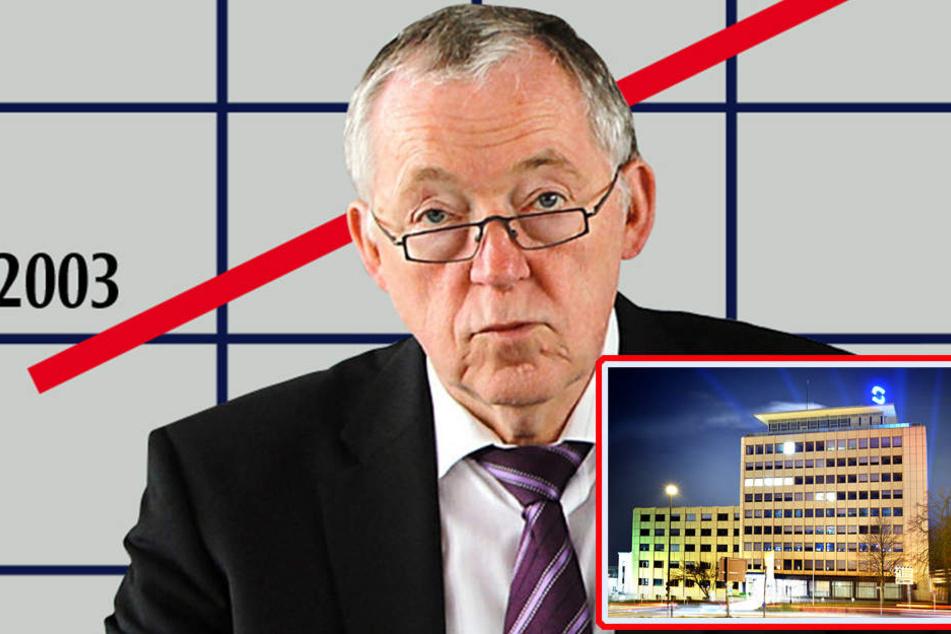 Einen Schaden von 264.037 Euro sollen Brinkmann (s.Foto) und Gottschlich bei den Stadtwerken verursacht haben.