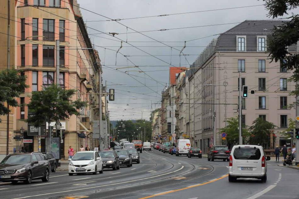 Tempo 30 auf der Bautzner Straße rückt in weite Ferne.