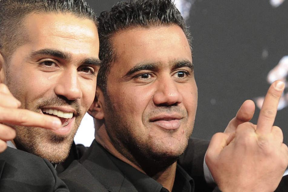 Bushido (40, l.) und Arafat Abou-Chaker (43) waren einst dicke Freunde und Geschäftspartner.