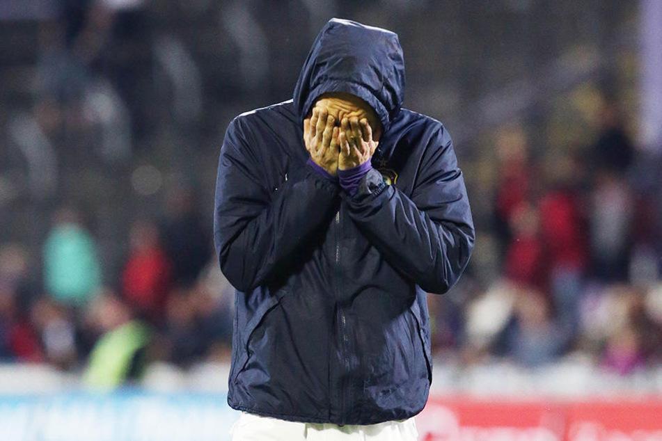 Christian Tiffert kann nicht mehr hingucken.
