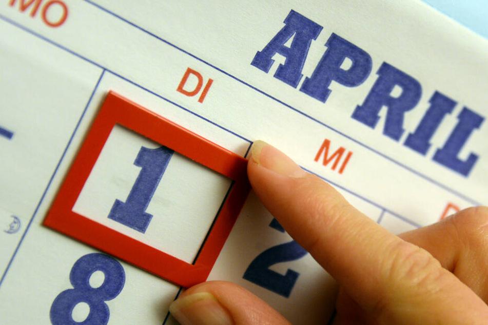 Das Lieblingsdatum aller Scherzkekse: Der 1. April wurde in Hamburg ausgiebig zelebriert, was beweisen sollte, dass der Norden scheinbar doch Humor hat.