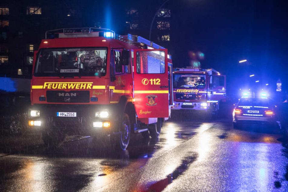 Die Feuerwehr musste zu einem Brand in Lohbrügge ausrücken.