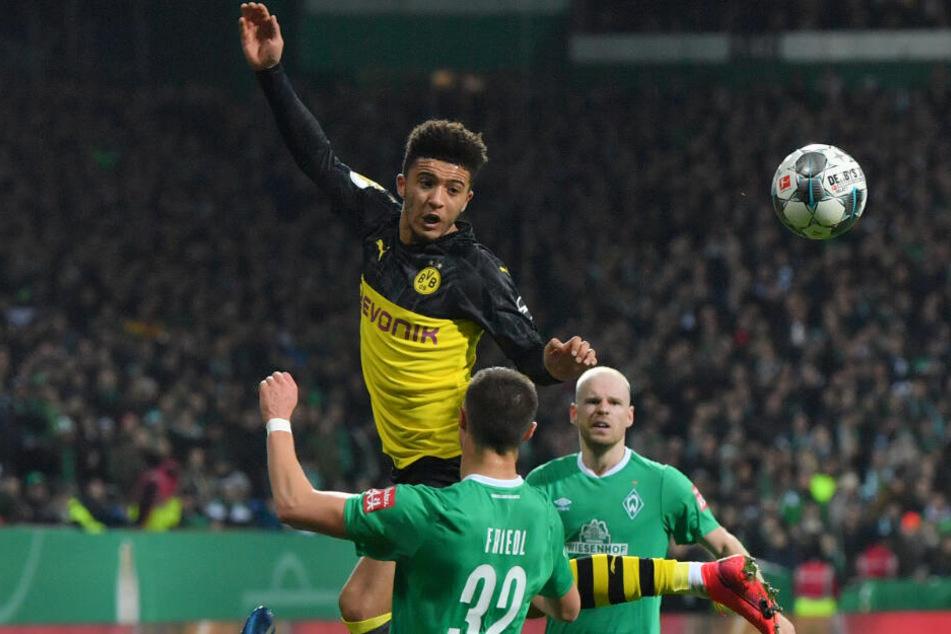 Wird den BVB wohl im Sommer den Rücken kehren: Juwel Jadon Sancho.