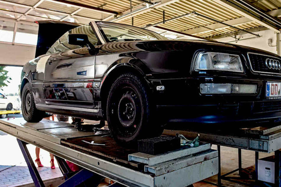 So sah das Cabrio vorher aus. Seitdem hat sich viel verändert.