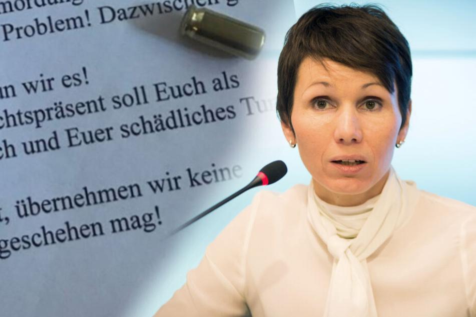 Linker Terror? Polizei ermittelt nach Drohbrief gegen FDP-Politikerin