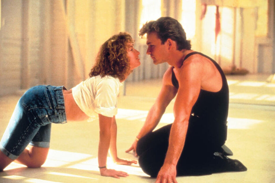 "In ""Dirty Dancing"" liefern Patrick Swayze und Jennifer Grey ganz großes  Gefühlskino."