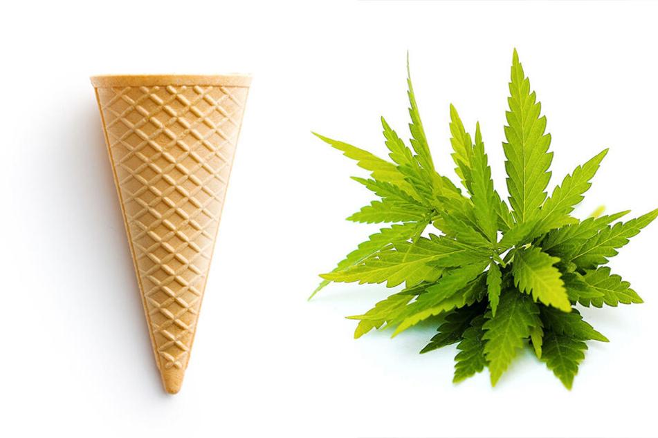 Diese Eistüte macht nicht satt, sondern high: Über das Café seiner Eltern vertickte der Junior nämlich auch Drogen.
