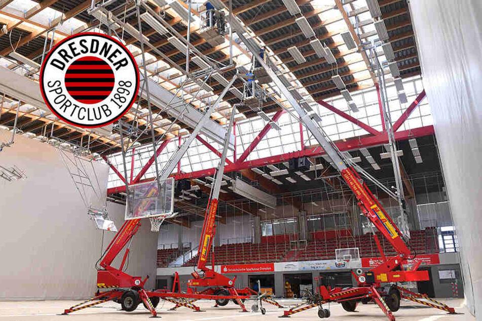 Hallen-Ärger beim DSC: Mannschaft kann nicht in Margon Arena trainieren