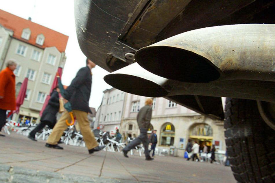 Diesel-Fahrzeuge sorgen für schlechte Luft in Leipzig. Ist die Stadt selbst dran schuld?
